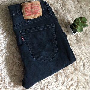 Levi's 510 Super Skinny Black Jeans